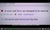 What if Joseph and Mary had facebook - image