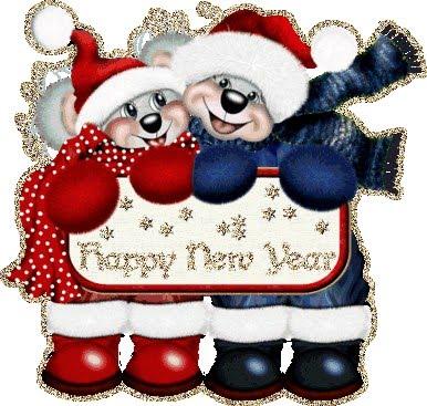 novogodišnje čestitke download Božićne slike i e card čestitke: Zaljubljeni medvjedići ti žele  novogodišnje čestitke download