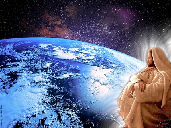 Resultado de imagem para jesus e uma terra
