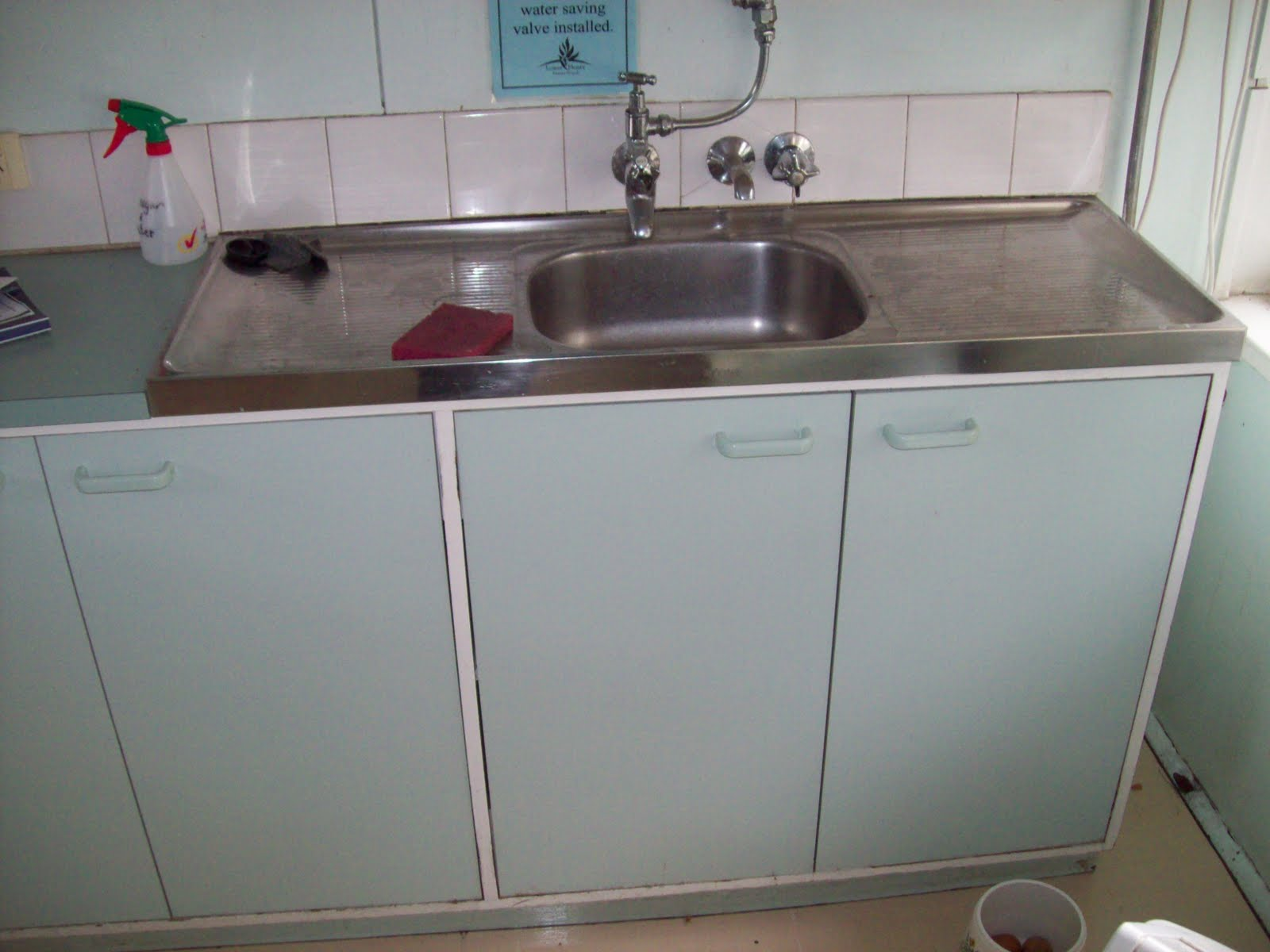 Stainless Steel Sinks From An Old School