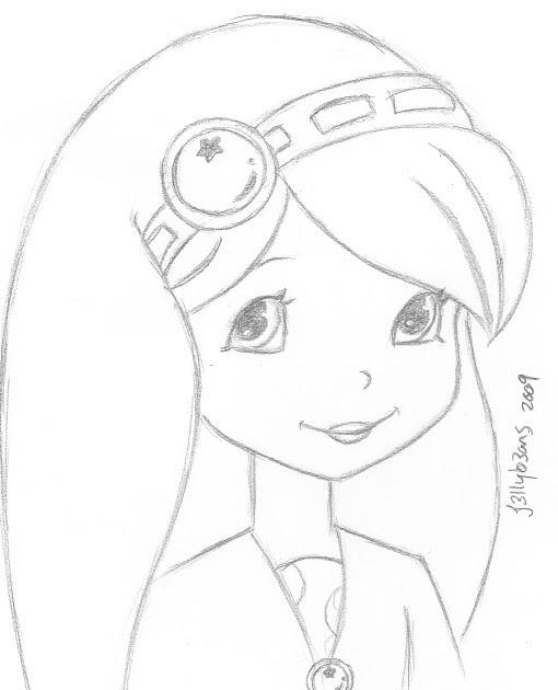The Art Of J3llyb3ans: Blueberry Sketch