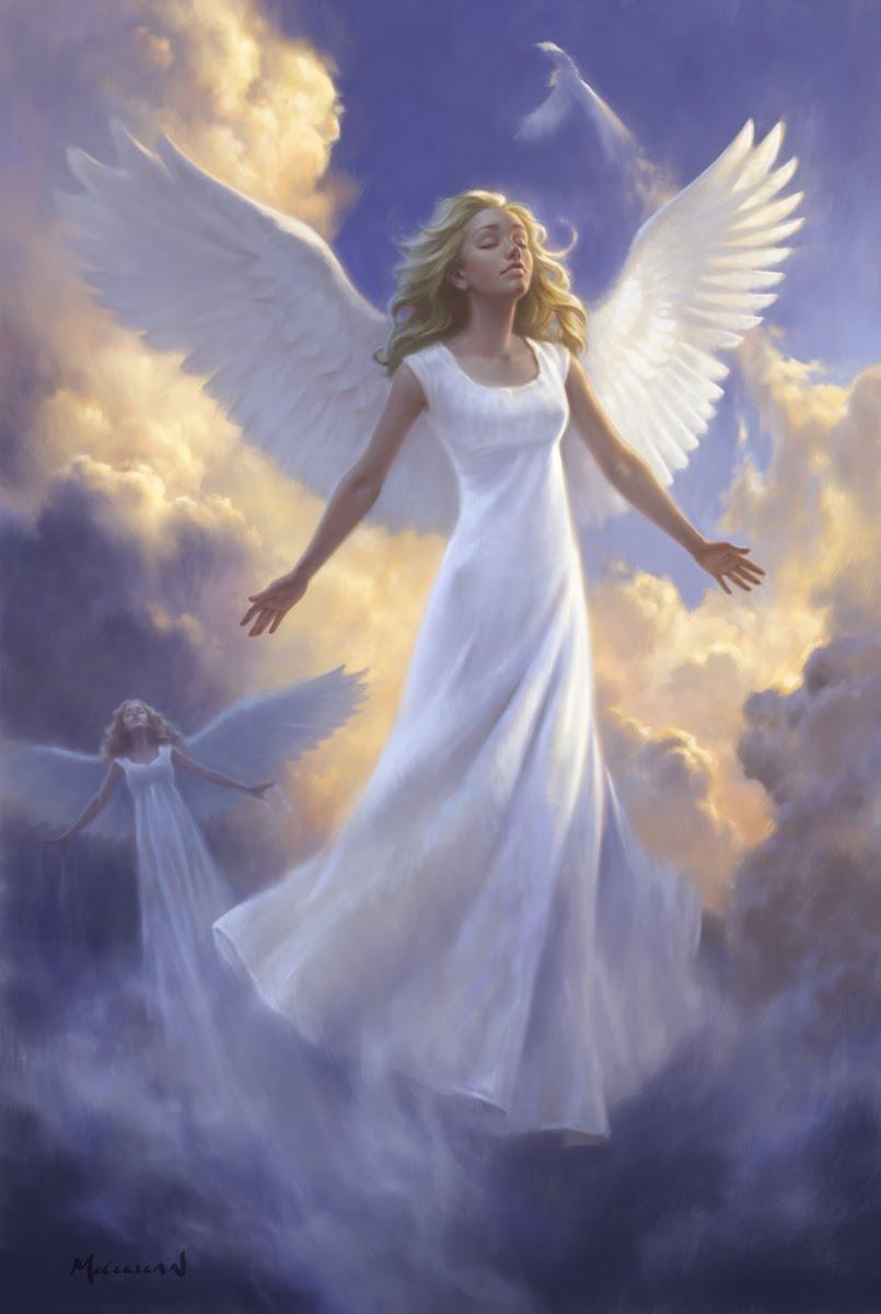 dave mcclellan art and illustration angels