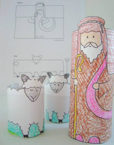Good Shepherd Learning Activity and Craft