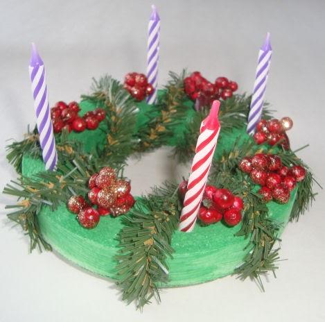 Catholic Icing Advent Wreath Craft For Kids