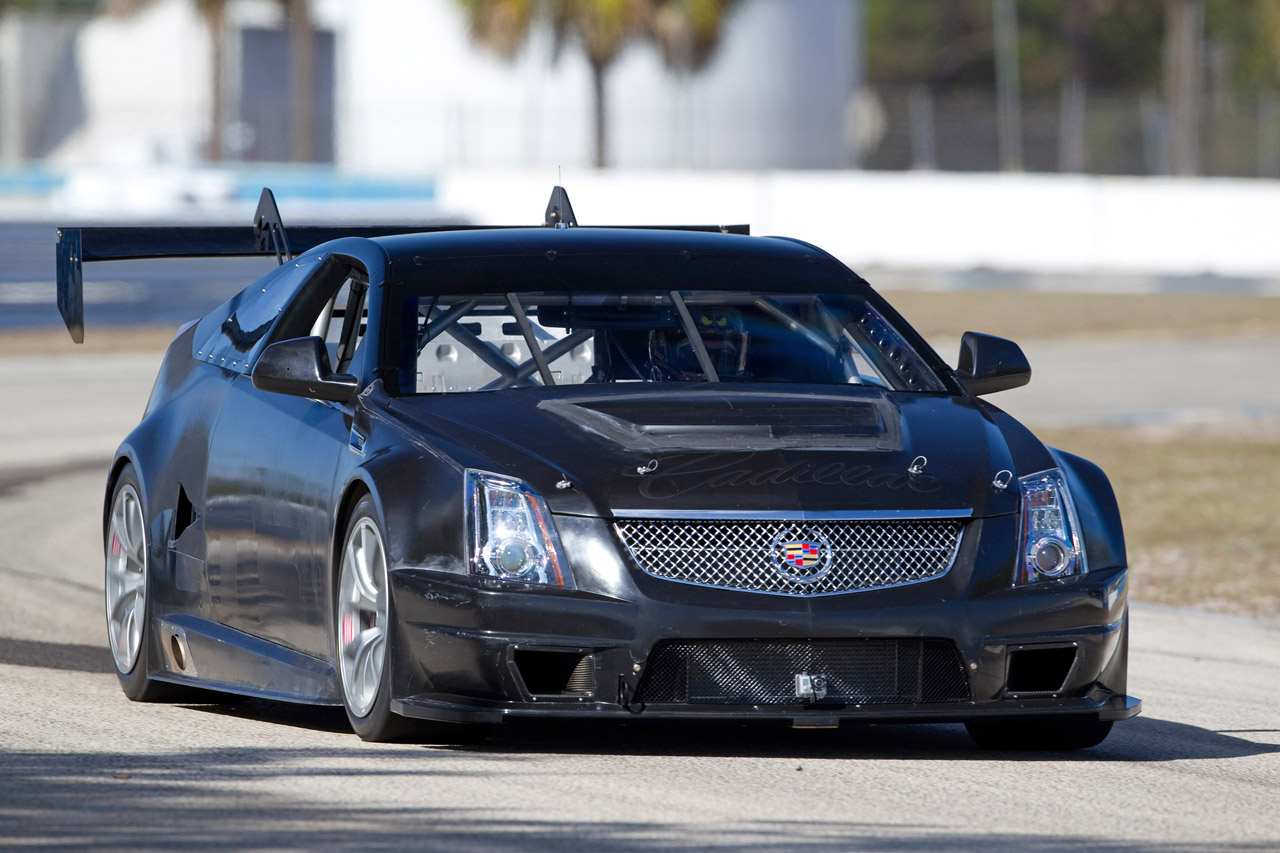 Race Car Cadillac Cts V Coupe Scca