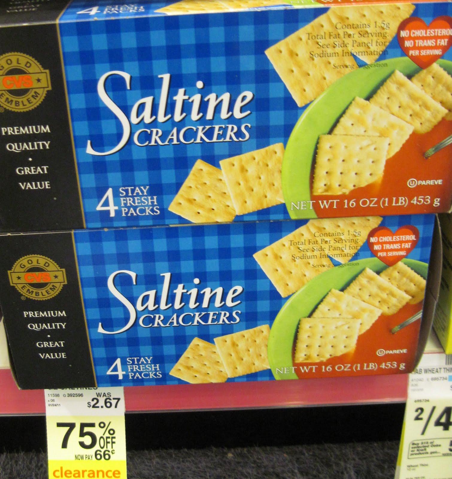 Cvs brand cheese crackers