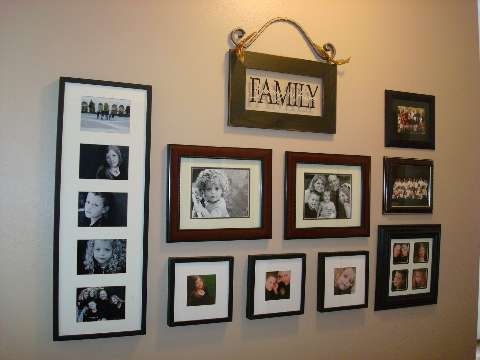 Home Sweet Home: Arranging Photos on the Wall