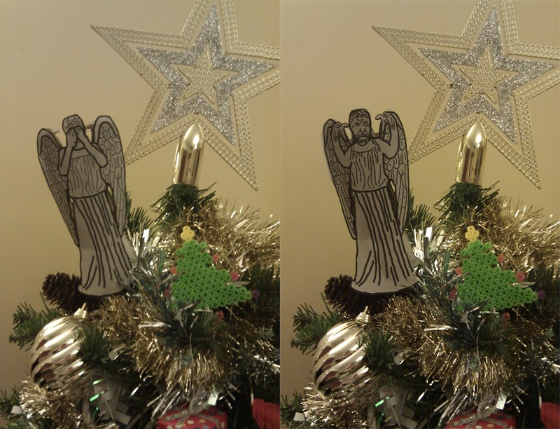 Questions Nobody Asked..: Weeping Angel Christmas Tree Topper