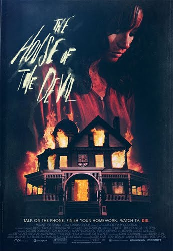 he poster for the movie The House of the Devil
