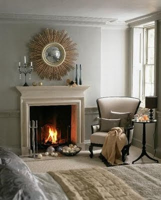 A perfect gray a perfect gray or how it all began - Over the fireplace decor ...
