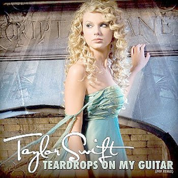 HOLLYWOOD: Taylor Swift Teardrops on My Guitar