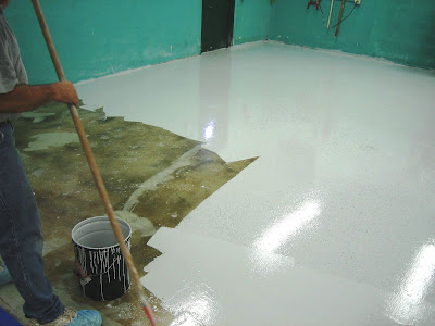 Warehouse Floor High Gloss Epoxy Coating I Opa Locka