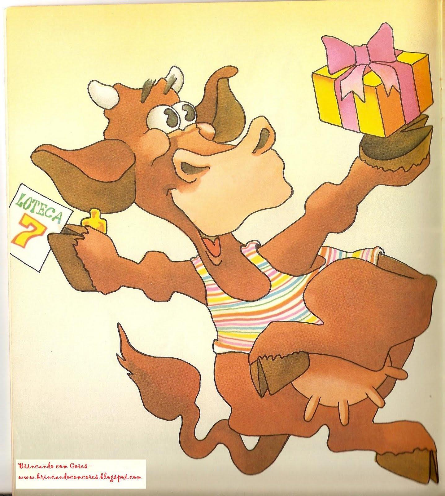 BRINCANDO COM CORES: Literatura Infantil: A Vaca Rebeca