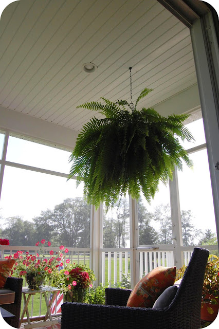 33 Shades Of Green Home Tour Screen Porch