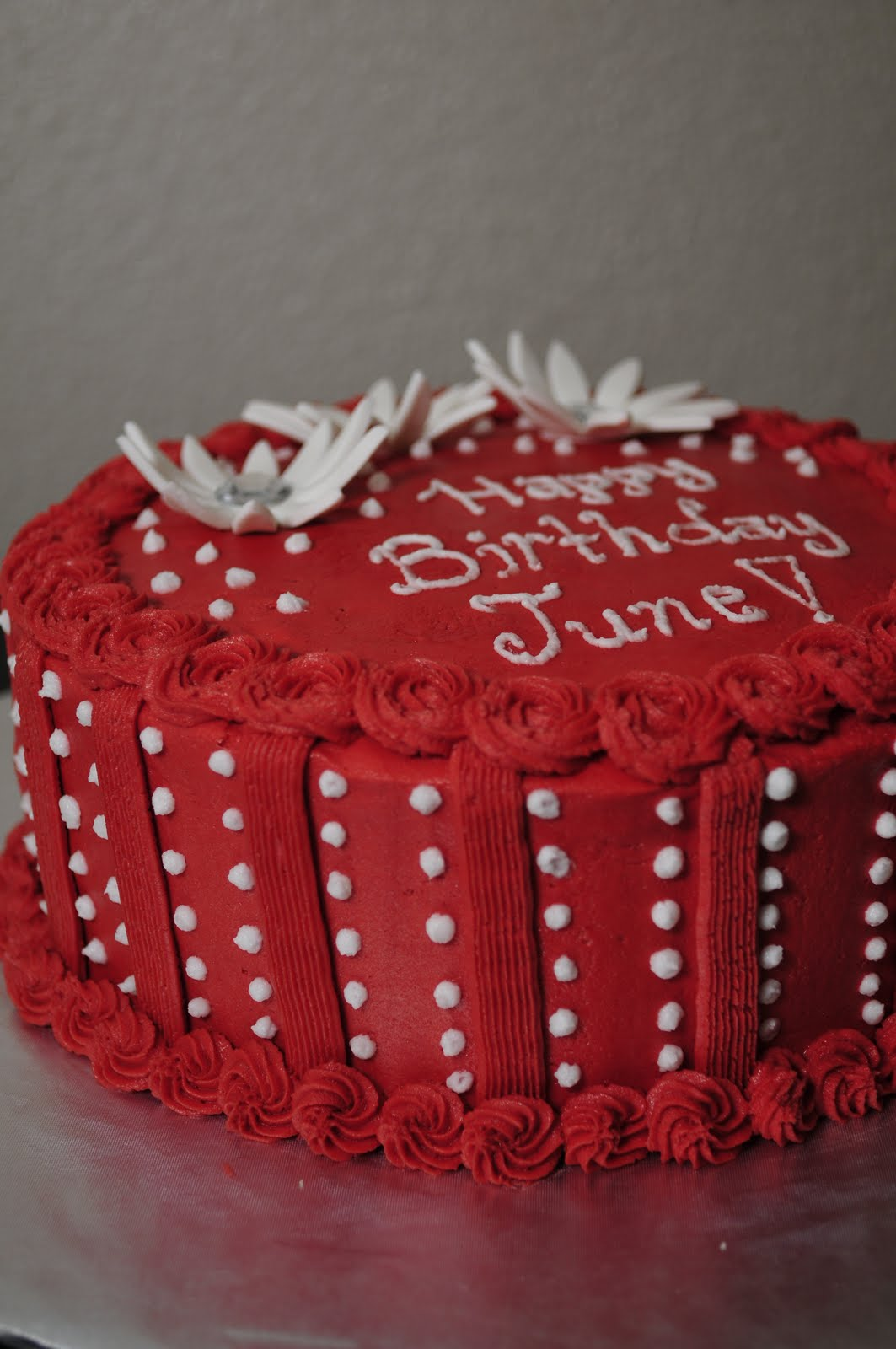 Lindsay S Custom Cakes June S Birthday Cake