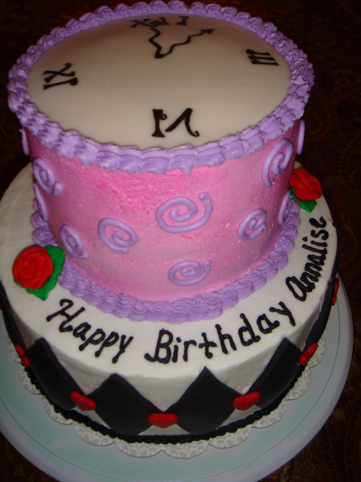 Vicki S Sweet Treats Alice In Wonderland Birthday Cake