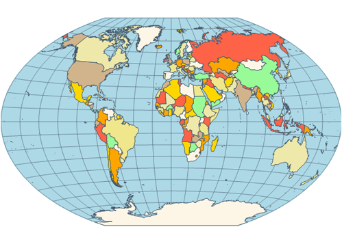 Most accurate map projection - Coursework Sample October ...