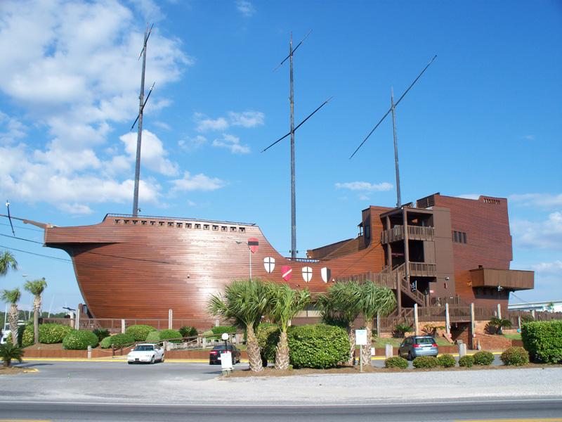 The Treasure Ship Restaurant Panama City Beach Florida