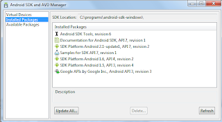 Android Google Maps android sdk avd manager