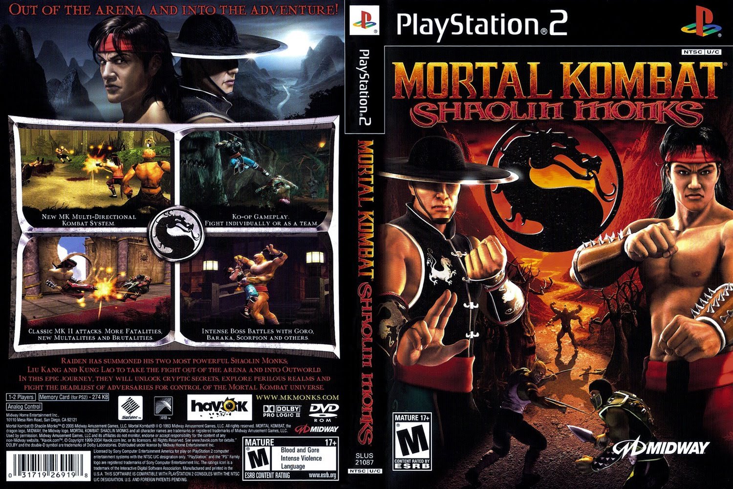 08231e6ce8 Download - Mortal Kombat  Shaolin Monks