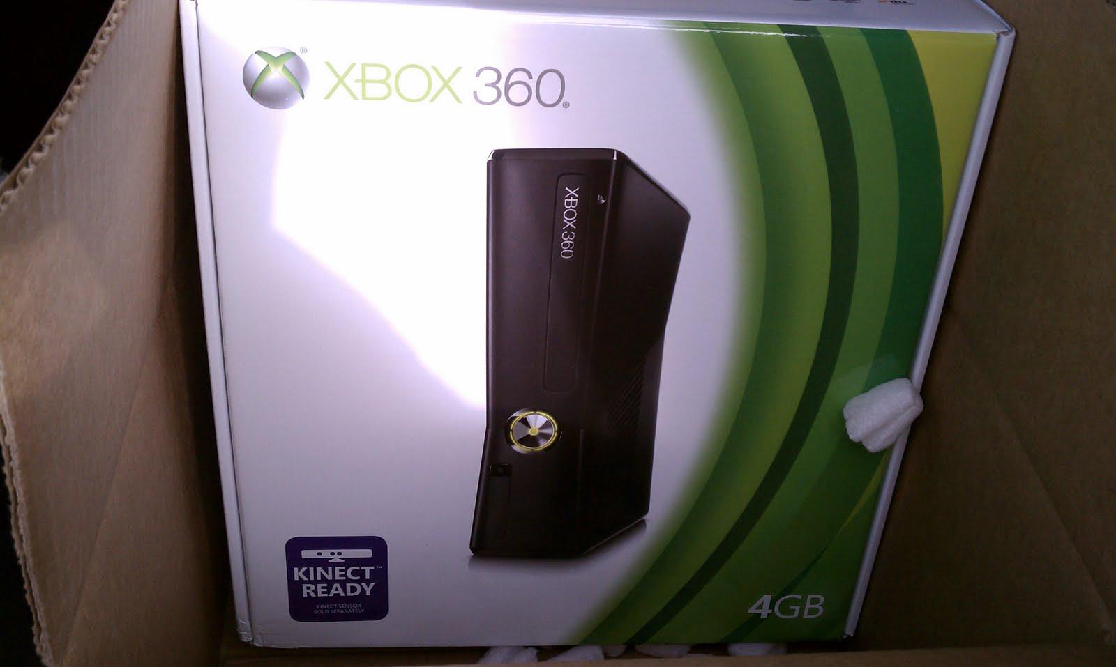 Xbox 360 Slim 4gb Free microsoft ...