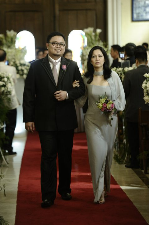 Maricel Soriano As The Ninang In Roxane And Elton Wedding
