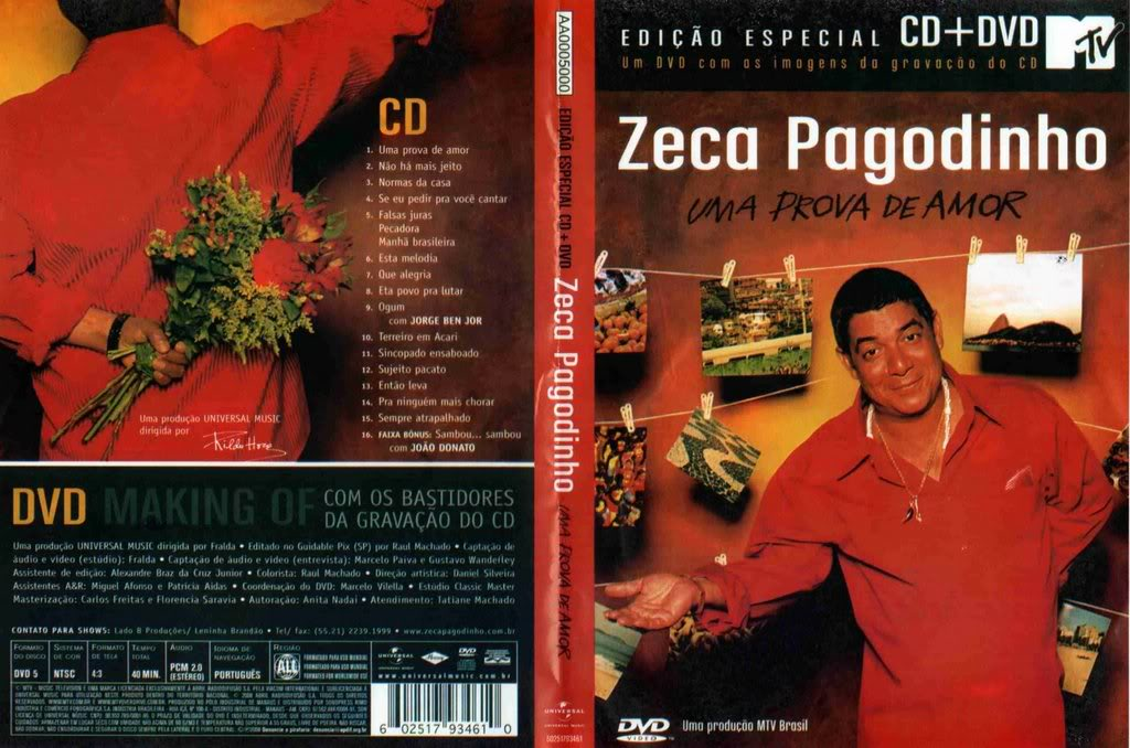 COM ZECA AO OS GRATUITO DOWNLOAD PAGODINHO VIVO DO AMIGOS CD