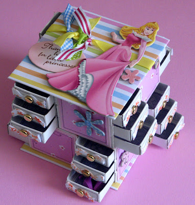 Matchbox Craft Paper Tree