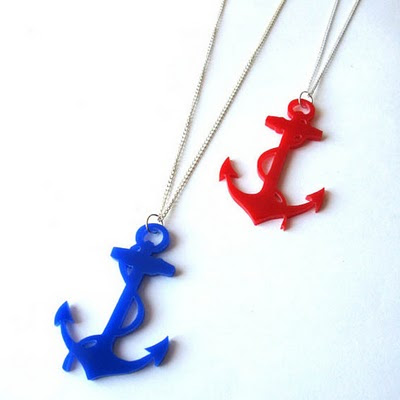 Anchor necklaces