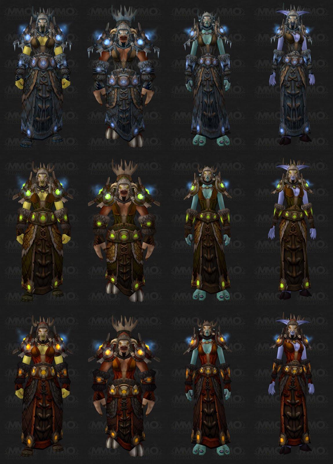 Totally Elemental: Tier 10 Armor Set