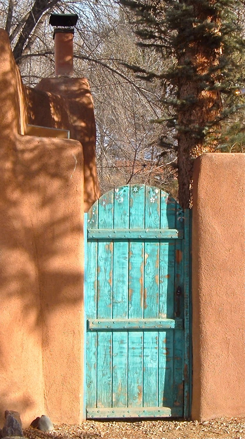 Two Graces Taos The Secret Of Taos Blue Doors Robert