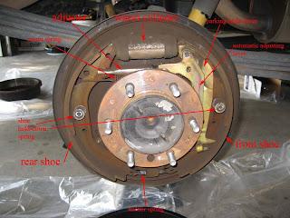 My Toyota Tundra  Upgrading rear brakes on Toyota Tundra 2002