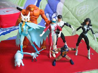 Alpha Flight Marvel Legends PUCK SNOWBIRD NORTHSTAR AURORA SASQUATCH Shaman Guardian Vindicator