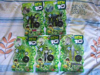 Ben 10 Tennyson Alien Collection SixSix Greymatter Ghostfreak Petrosapian Bounty Hunter Wildvine Ripjaws