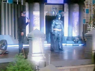 Dark Knight Batman Queensbay Mall Penang Christmas