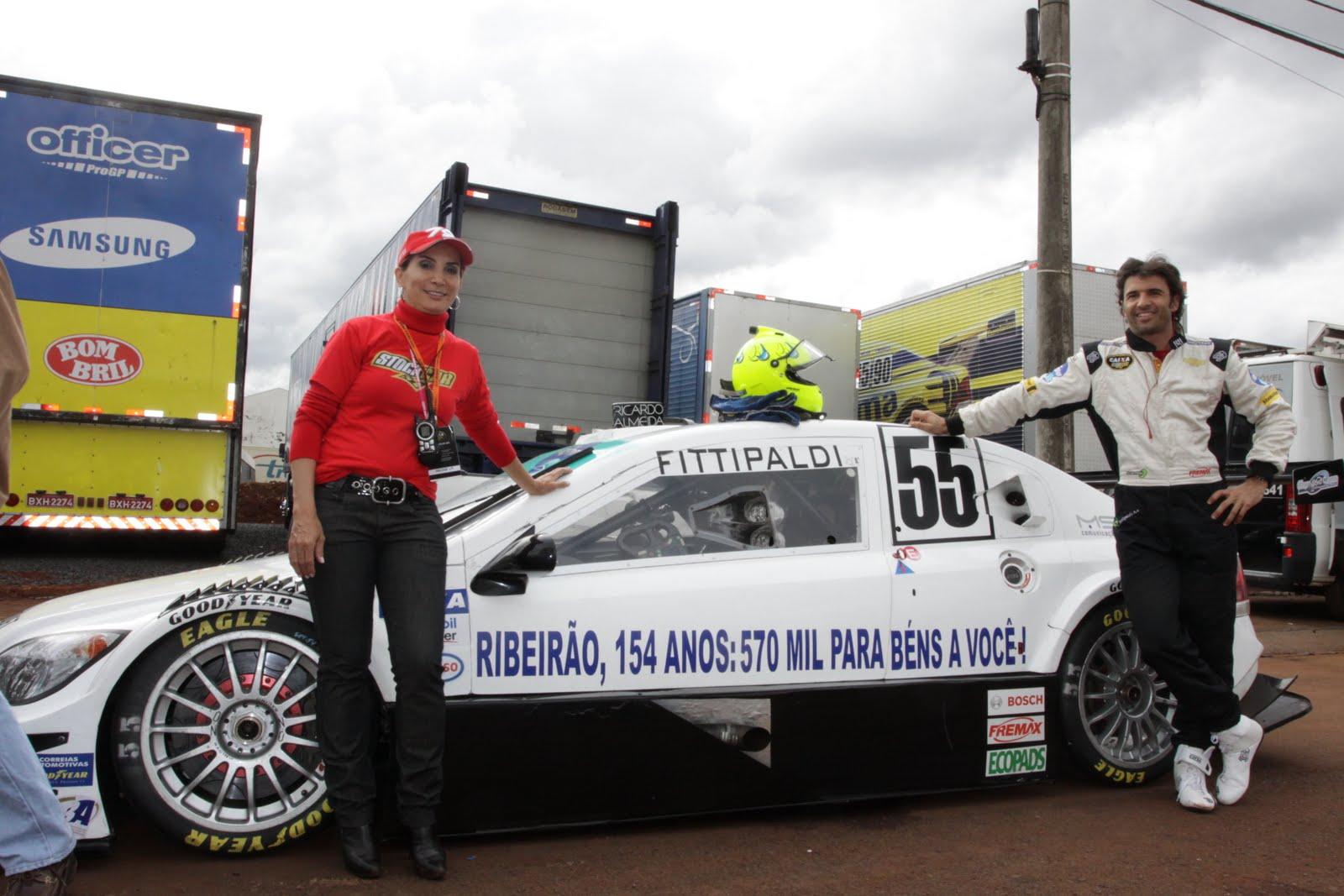a78e7369dd9 Tarso Marques e Christian Fittipaldi homenageiam cidade em seus carros e  são contemplados com elogios de Dárcy Vera