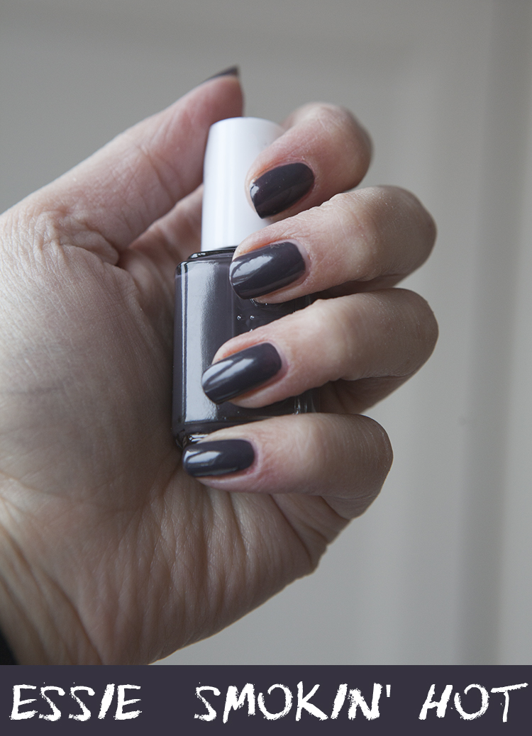 Nails Of The Day Essie Smokin Hot Super Gorgeous