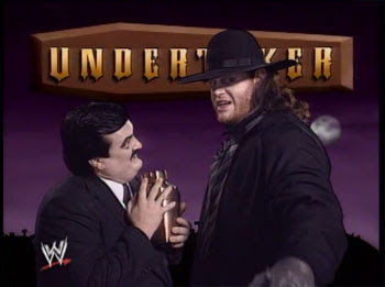 Percy's Posts: ANNIVERSARY - Undertaker / Hogan 1991