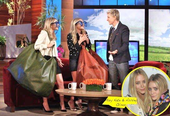 Olsen Twins On Ellen