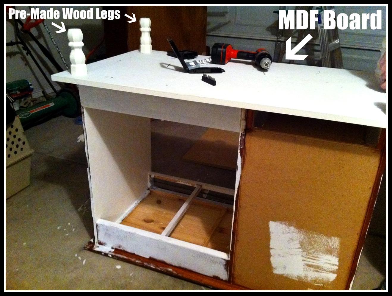 Island Turn Kitchen Desk