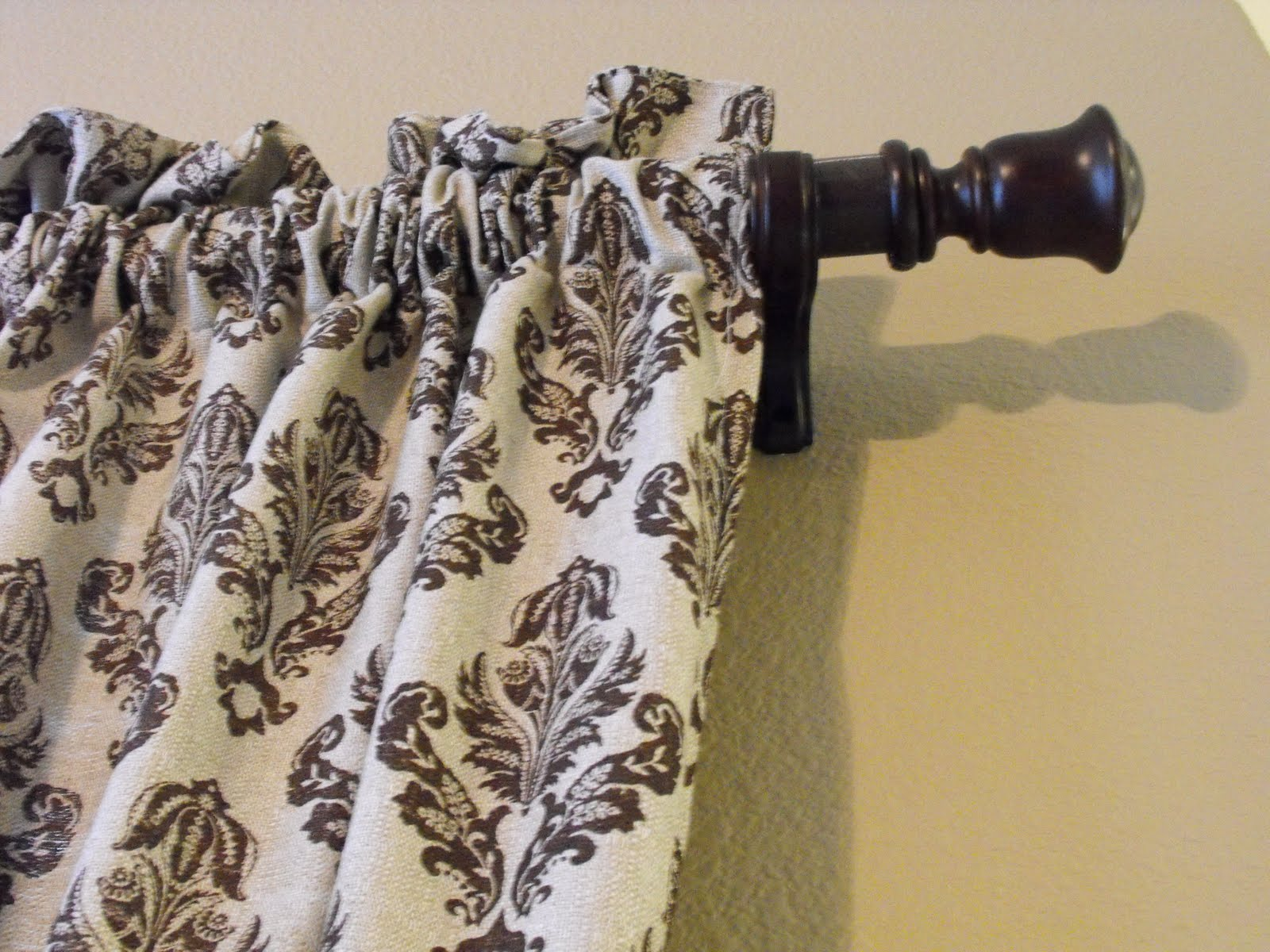 A Little Of This That PVC Pipe Curtain Rods PART 2