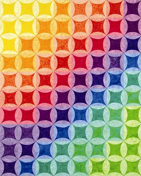 Quilt Inspiration: Look To The Rainbow