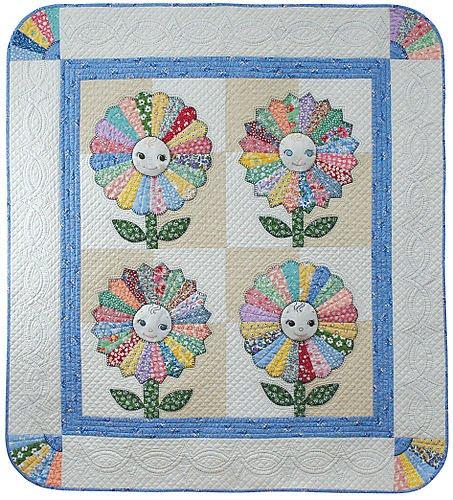 Quilt Inspiration Dresden Plate Quilts