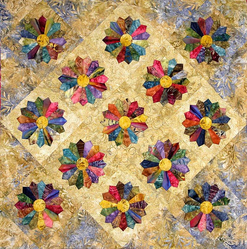 Quilt Inspiration: Dresden Plate Quilts