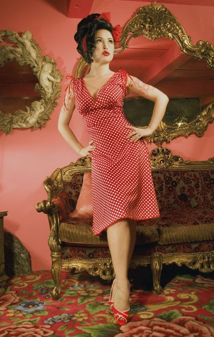 Nellie Photography: Super Cute Pin-up Girl Clothing!