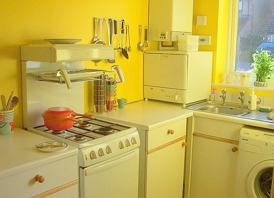 Cabinets for Kitchen: Yellow Kitchen Cabinets
