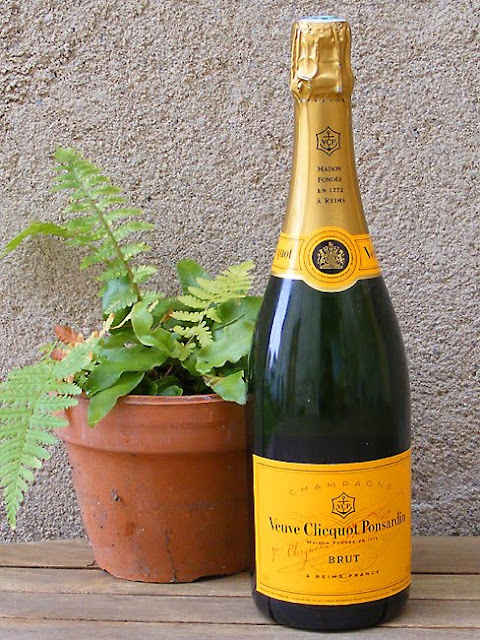 Veuve Cliquot is a popular and widely available champagne brand. Photo taken by Susan from Loire Valley Time Travel.