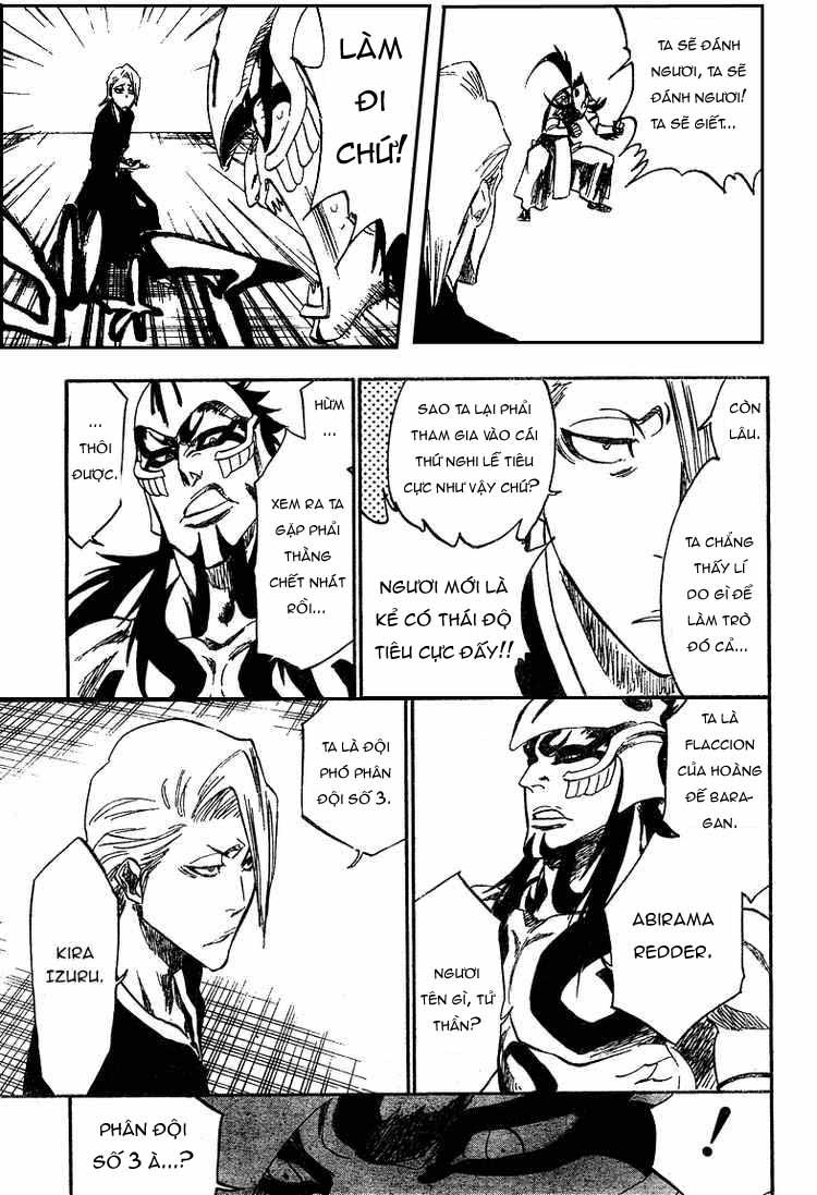 Bleach chapter 318 trang 17