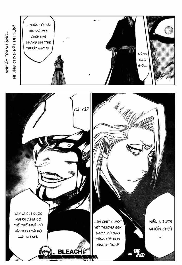 Bleach chapter 318 trang 19