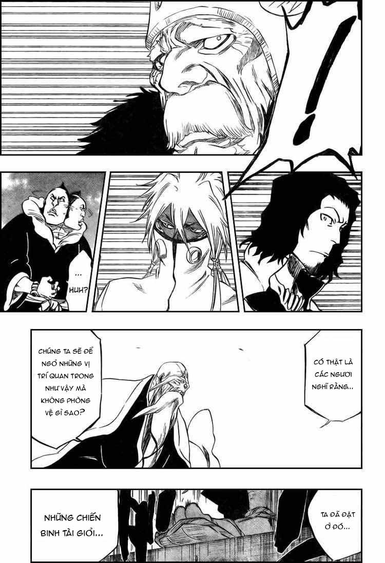 Bleach chapter 317 trang 16